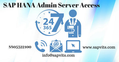 SAP HANA Admin Server Access in Wakad, Pune | ID: 20069737588