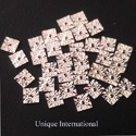 Square Shape Silver Miracle Plate