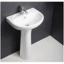 Hindware Cleo Full Pedestal Wash Basin
