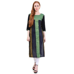 Ladies Cotton Fancy Kurti, Size: S - XXL