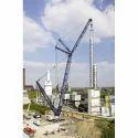 Kobelco Crawler Crane Rental Service, Rental Duration: 1-6 Months, Capacity: 90 Ton