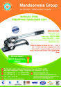 Sealess Steel Strapping Tool