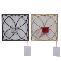Wall Mounted Candle Holder Set
