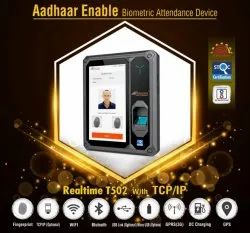 Aadhaar Attendance Machine 4G LAN with Jio SIM Support