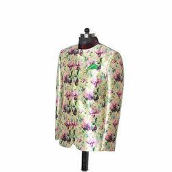 Designer Silk Blazer