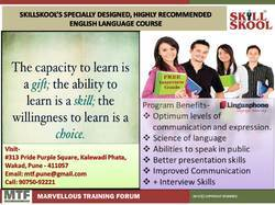 English Language Courses For Individuals/Groups in Wakad