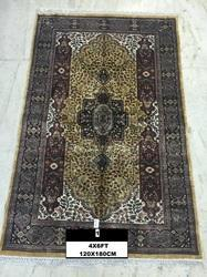 LE Assorted Hand Knotted Art Silk Carpets