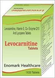 Levocarnitine, Vitamin E, Coenzyme Q10 and Lycopene Tablets