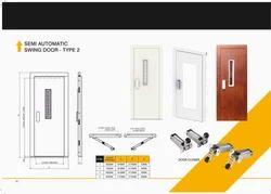 siemens grey Elevator Swing Door