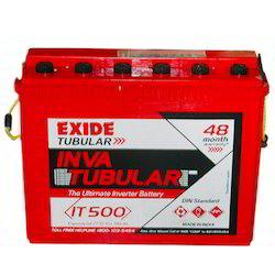 Exide Tubular Battery for Home, Capacity: 40-100 Ah
