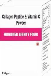Collagen Peptide & Vit C Powder