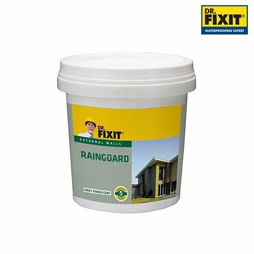 Liquid Dr Fixit Rainguard Grey 6 X 1ltr Waterproofing Coating Rs 340 Unit Id 20065480630