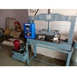 Hydraulic Thali Dish Dona Making Machine