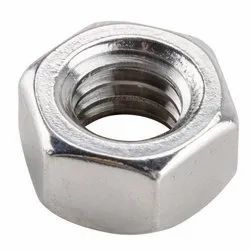 Sulohak Cast Hexagonal Stainless Steel Hex Nut, Thickness: 2-5 Mm