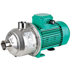 60m Stainless Steel Electric Horizontal Multistage Pumps, 1 - 5 Hp