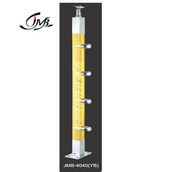 Acrylic Square Yellow Baluster
