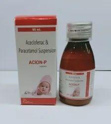 Aceclofenac 50mg  Paracetamol125mg
