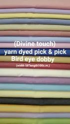Divine Touch(Bird Eye) Shirting Fabric