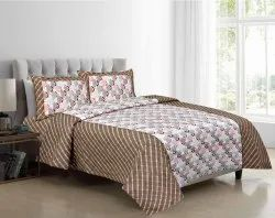 Bedsheet with Pillow Cover Double Bed Cotton