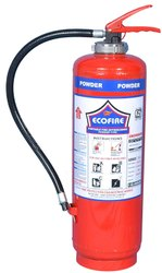 Mild Steel A Dry Powder Fire Extinguisher, For Industrial, Capacity: 6 kg