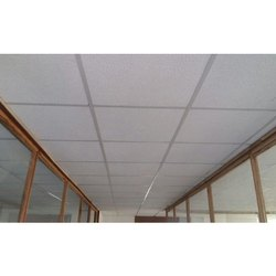 Concealed Grid Fiberboard Modern False Ceiling, Thickness: 15-30mm