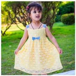 Embroidered Kids Party Wear Frock