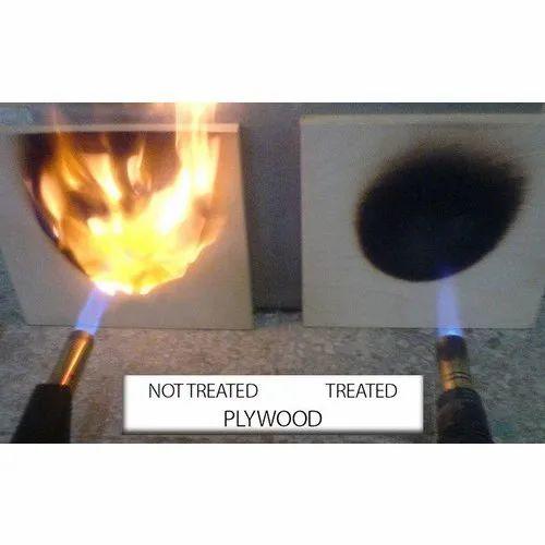 Brown Fire Retardant Plywood