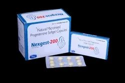 Natural Micronised Progesterone 200mg Softgeltin Capsules