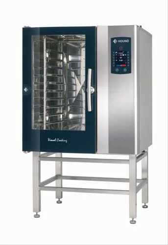 Gray Stainless Steel C 1.10E Combi Oven ( Electric ), Capacity: 10 Tray
