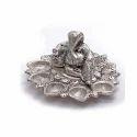Silver Metal Lord Ganesha