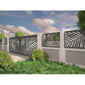 Mild Steel Boundary Wall Railing