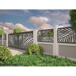 Mild Steel Boundary Wall Railing Iron Boundary Wall