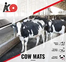 Heavy Duty Cow Rubber Mat (Interlocking Type)