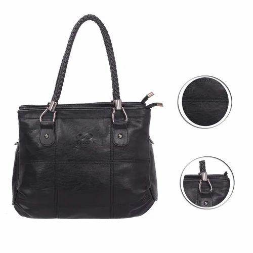 c5a6fb8fe148 Spiral Women  s Leather Handbag Black (1002)