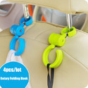 Car Seat Hooks For Hanging Bags 4 Pc Per Pack