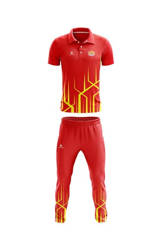 Customised Team Uniforms - Team Cricket Wear Manufacturer from Ahmedabad