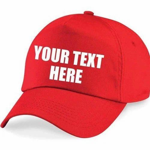 Red Printed Caps ab247c7c48d
