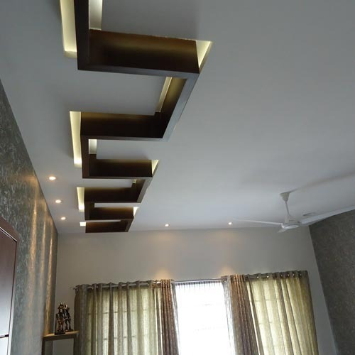 FRP Durable Coating Wooden False Ceiling, Rs 50 /square ...