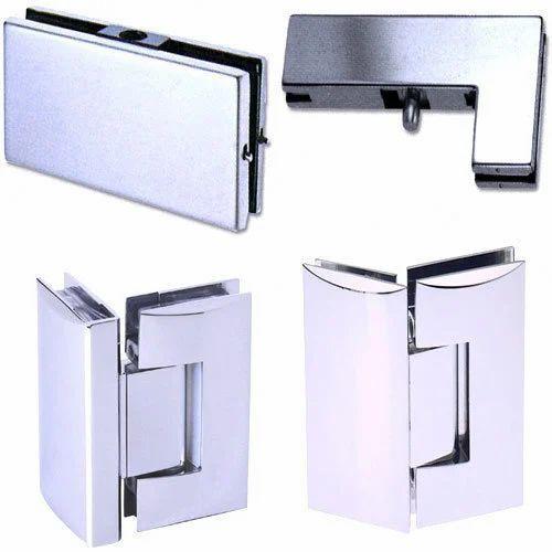 Glass Hardware Fitting, कंचे के दरवाजे के फिटिंग, ग्लास डोर फिटिंग in Ambajhari Garden, Nagpur , Dada Krupa Glass Pvt. Ltd. | ID: 2314303448