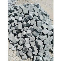 Outdoor Grey Kota Stone Cobbles, for Landscaping