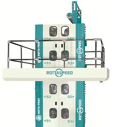 Newspaper Printing Machine With 4 Hi Tower