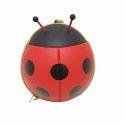 Vismiintrend Red Ladybug Shaped Kids Backpack