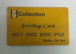 Privilege Plastic Card