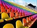 Fibre Stadium Floor Mounted Seating
