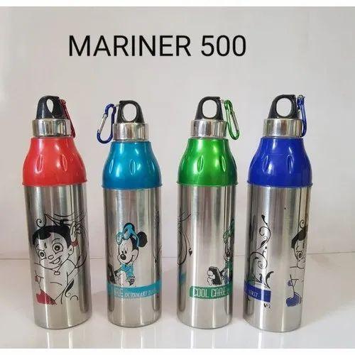 REGENCY Multicolor SS School Water Bottle, Model Number: Mariner 500
