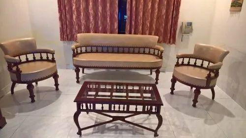 Antique Style Teak Wood Antique Wooden Sofa Set Rs 48000 Set Antique Arts Furniture Id 13263801030
