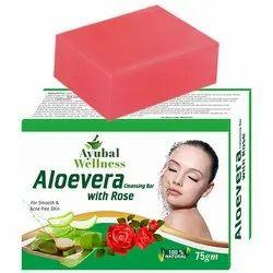 Aloe Vera Rose Soap (Help to Treat Acne)