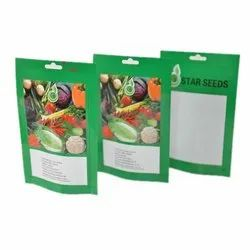 Laminated Seed Packaging Pouch