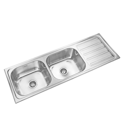 Double Bowl Drain Stainless Steel Kitchen Sinks