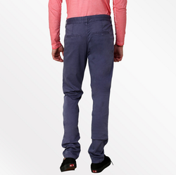 Cotton Casual Blue Trousers, Size: 36